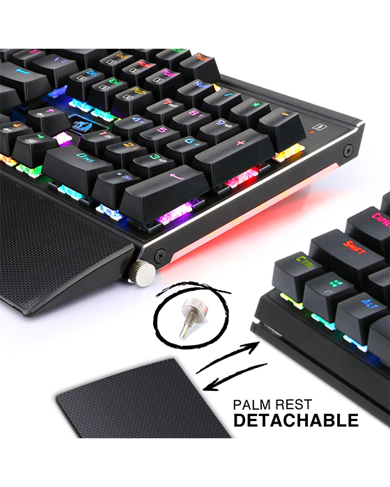 Redragon K567RGB Mechanical Gaming Keyboard