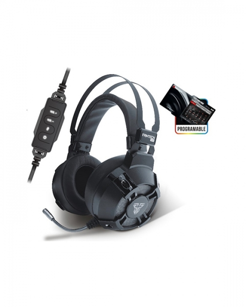Fantech Vibration HG11 7.1 Surround Sound USB PC Stereo Gaming Headset