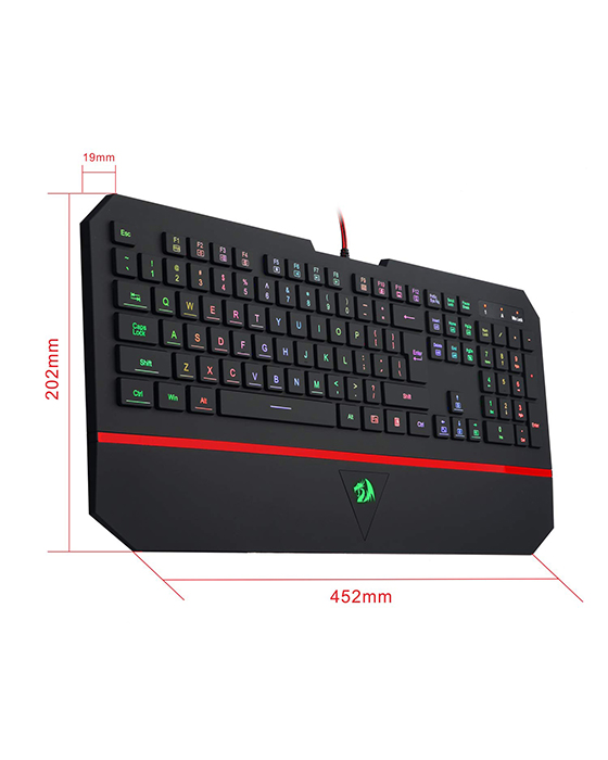 Redragon K502 RGB Silent Gaming Keyboard