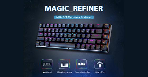 Magic Refiner Mk14 Rgb Mechanical Keyboard Red Switch